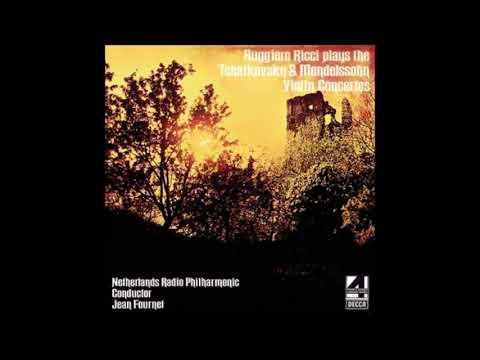 Ruggiero Ricci, Jean Fournet, Netherlands Radio Philharmonic* – 黎奇小提琴協奏曲
