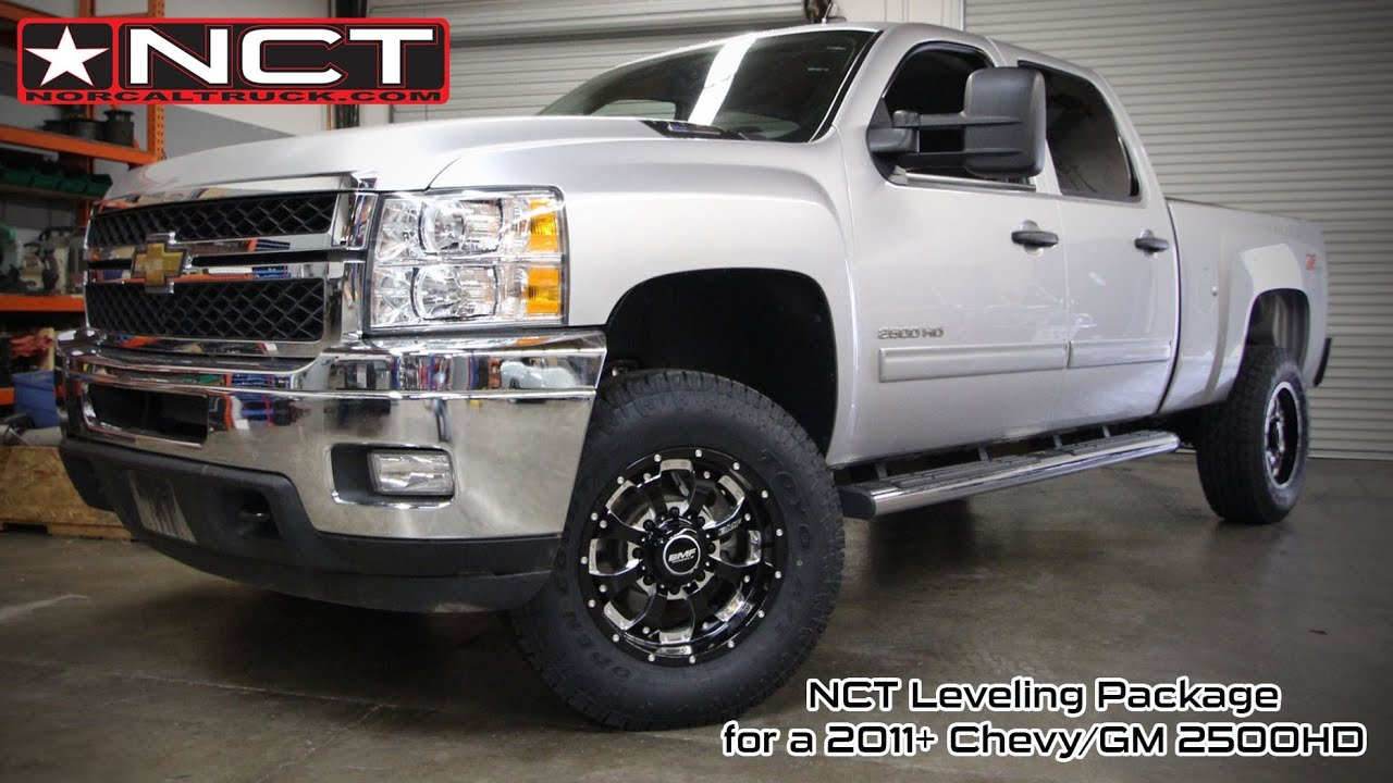Chevy HD Leveling Package Overview - YouTube