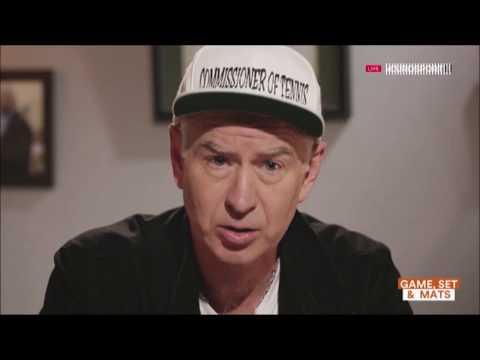 John McEnroe Eurosport Show PART2 (2016)