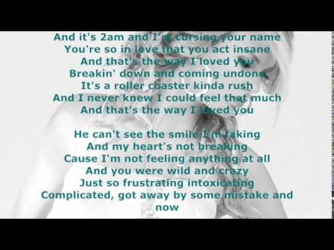 The way I loved you lyrics   Taylor Swift