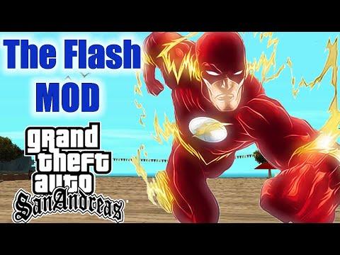 THE FLASH MOD - MOD SENSACIONAL - GTA SAN ANDREAS