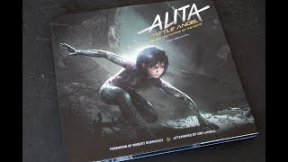 (book flip) Alita: Battle Angel - The Art and Making of the Movie
