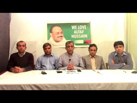Live:Video Briefing of MQM Co-ordination Committee from MQM Intl Secretariat London - 07 feb 2018