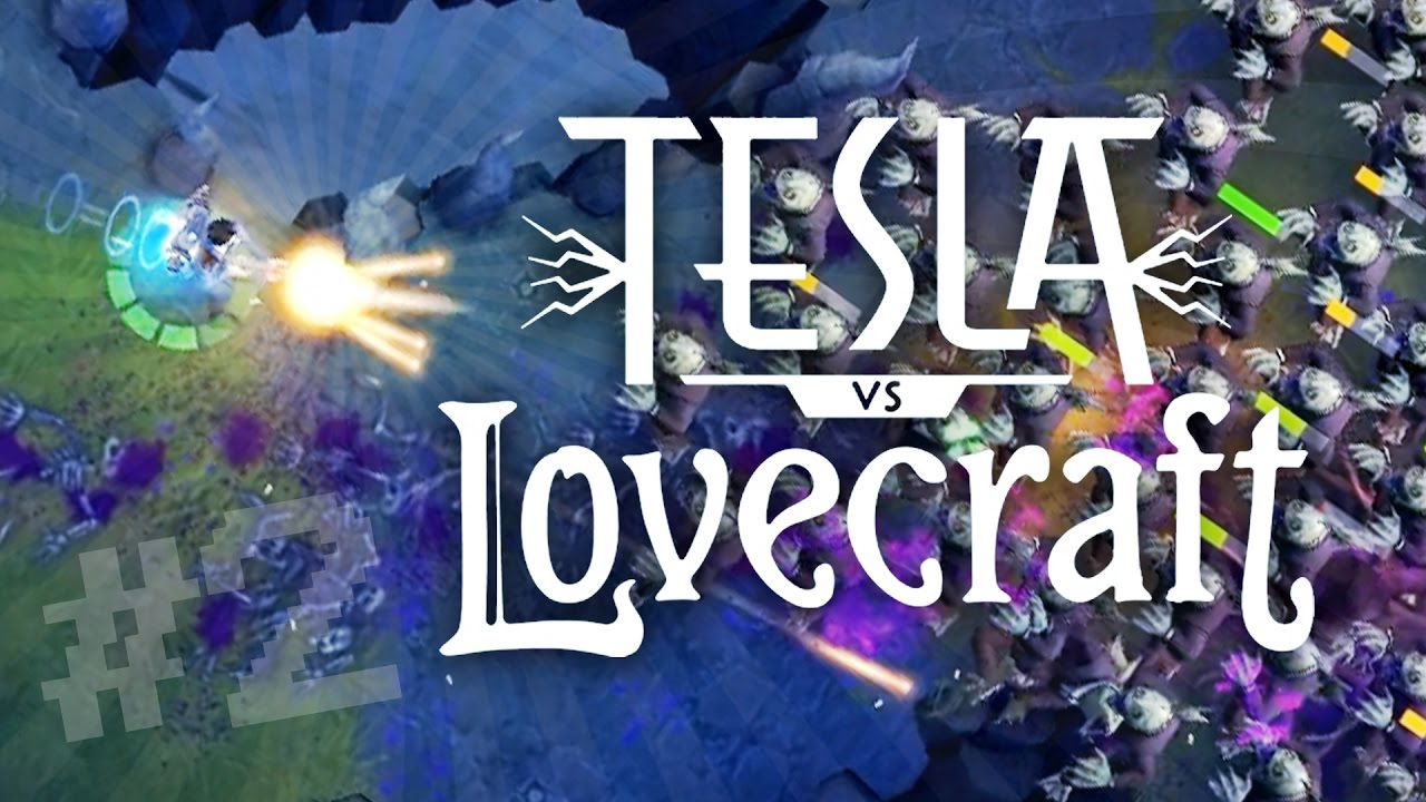 Image result for Tesla vs Lovecraft