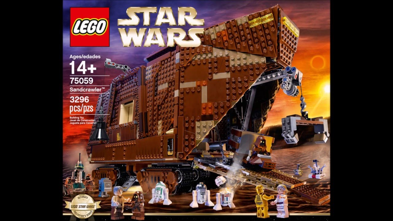 top 10 des plus gros lego star wars youtube. Black Bedroom Furniture Sets. Home Design Ideas