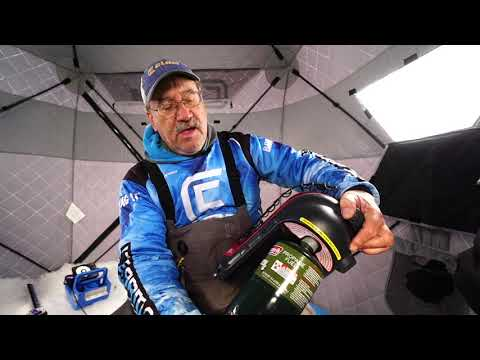 Ice Team Tips - Changing The Propane On Your Buddy Heater