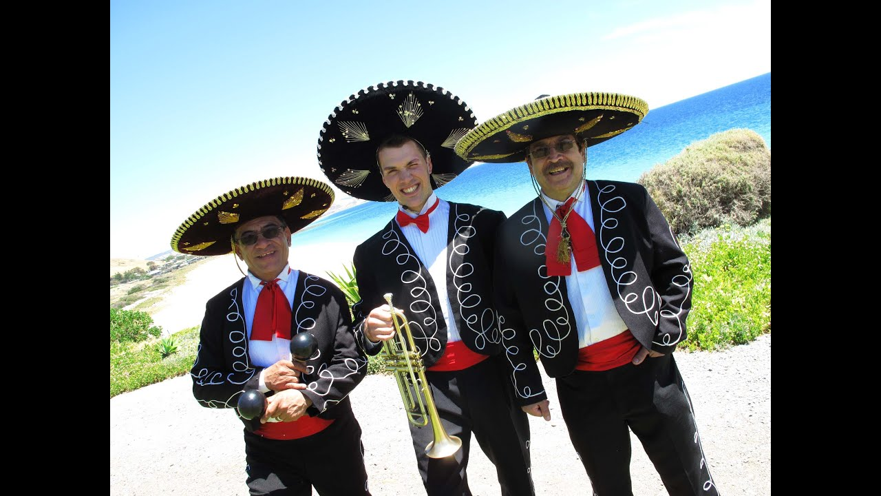 The Mexican Mariachi Band with Trumpet - YouTube
