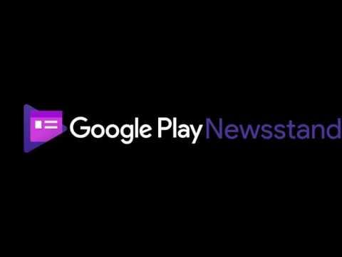 Google Play Newsstand Logo Reversed