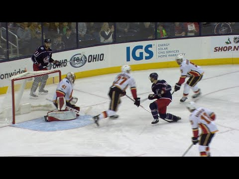 11/22/17 Condensed Game: Flames @ Blue Jackets