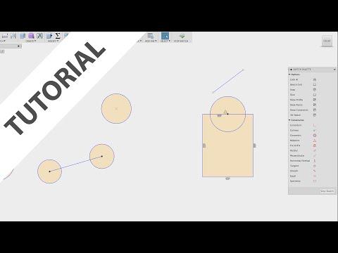 Fusion 360: Sketch Constraints thumbnail