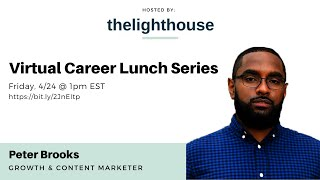 thelighthouse x Peter Brooks, Content & Growth Marketing