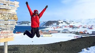 Проходим Айсберги. Как Размножаются Пингвины. Купание в Антарктиде. Клуб Лидеров