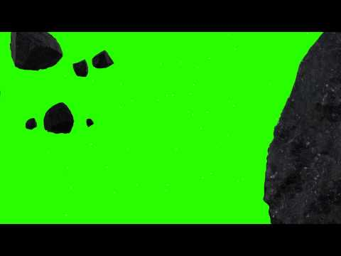 Meteor Floating - Royalty Free Green Screen Animation thumbnail