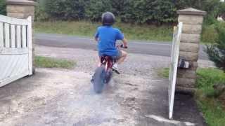Dirt bike moteur nitro 70cc