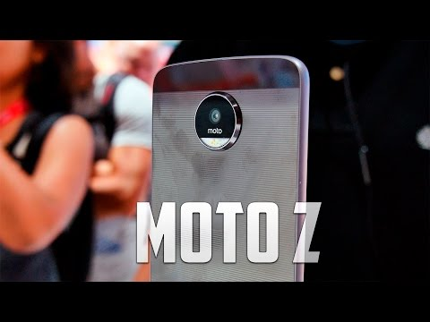 Motorola Moto Z, primeras impresiones #IFA16