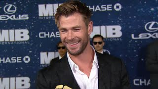 Chris Hemsworth Says He Made a Call to Get Tom Holland in Spider-Man (Exclusive)