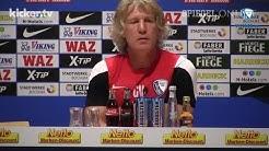 """""""Ihr seid ja Arschlöcher!"""": Bochums Trainer Verbeek rastet aus"""