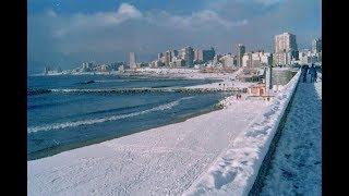 Океан зимой. Аргентина. Mar del Plata. Argentina.