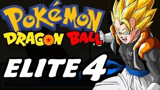 Dragon Ball Z Team Training (Pokémon Hack Rom - Parte 23) - Elite 4!!