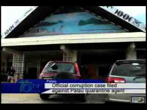 Official corruption case filed against Palau quarantine agent