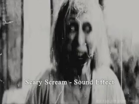 Scary Scream Sound Effect
