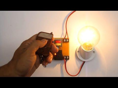 hướng dẫn mạch điều khiển từ xa bằng remote - how to make remote control circuit _ kênh chế tác