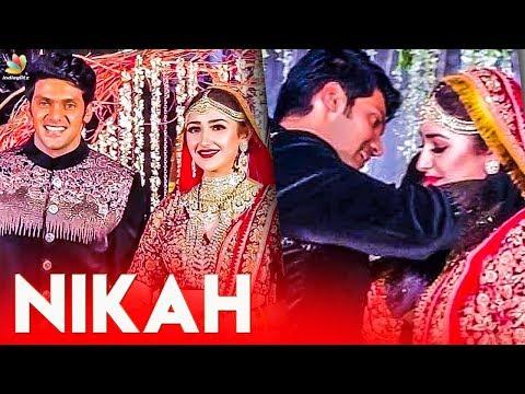ROMANTIC MOMENTS 😍 : Arya & Sayyeshaa's Wedding Celebrations   Marriage Video Mp3