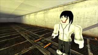 ROBLOX JEFF THE KILLER IN AREA 51