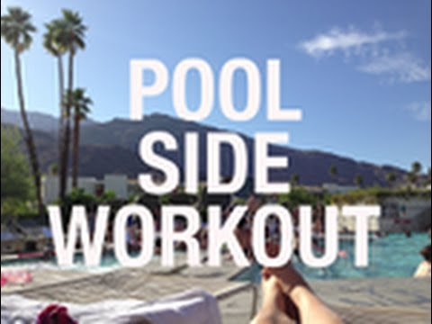 Poolside Workout for a Sexy Bikini Body
