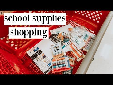 school supplies shopping vlog 2019