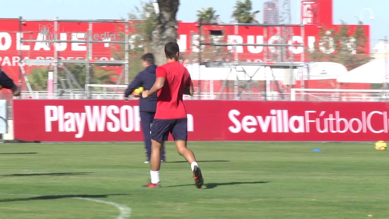 Sevilla FC training 14/11/17