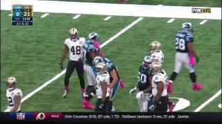Panthers vs Saints 2016