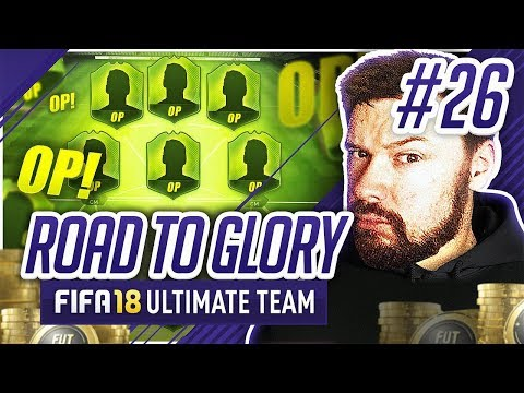 OVER POWERED SQUADS! - #FIFA18 Road to Glory! #26 Ultimate Team