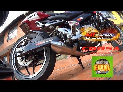Nuevo Escape Full System GPR 3.0 By KIT Racing En Pulsar 200 NS