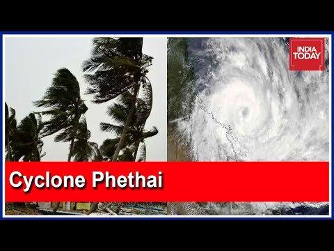 Cyclone Phethai Makes Landfall In Andhra Pradesh; High Alert Sounded