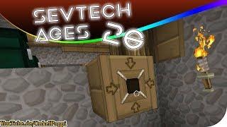 MECHANISCHE TECHNIK AUS HOLZ - SevTech AGES #26 [Stage ONE] #Minecraft