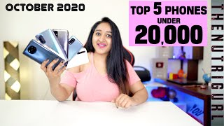 Top 5 Phones Under 20000 In OCTOBER 2020