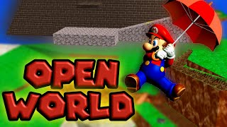 All SM64 Levels in one  - Battle Royale?