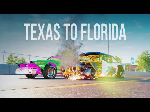 The Crew 2 - Demolition Derby from Texas to Florida!