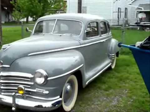 1947 plymouth sedan youtube for 1947 plymouth 4 door sedan