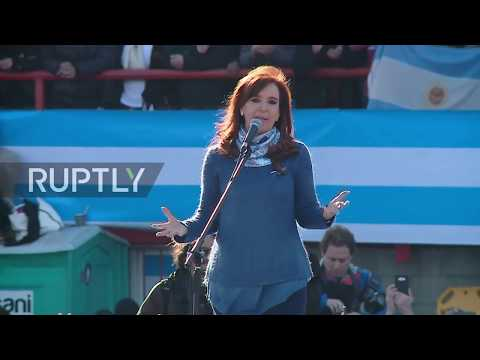 Argentina: Kirchner takes aim at Macri as she launches new party