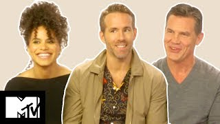 Download Video Deadpool 2 Cast On Funniest Moments, Deaths & Post-Credits Scenes | MTV Movies MP3 3GP MP4