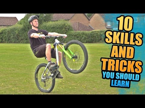 10 MOUNTAIN BIKE SKILLS AND TRICKS YOU SHOULD LEARN!