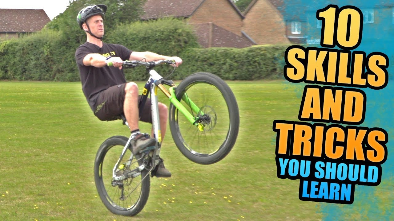 Download 10 MOUNTAIN BIKE SKILLS AND TRICKS YOU SHOULD LEARN!