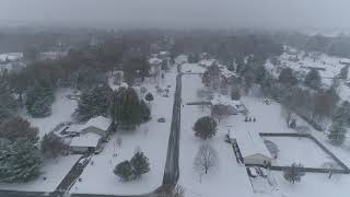 Southern Illinois DJI Phantom 4 Pro V2.0 Snowing