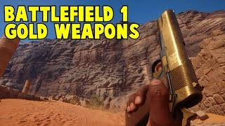 Gold Weapons Battlefield 1