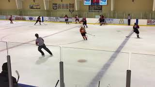 Western AAA Bantam Females Game 2 2nd part of Period 2 Oct 2017