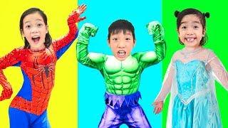 Superhero Song | Historinhas e Músicas Infantis - Filastrocche canzoni per bambini