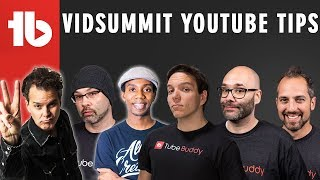 VidSummit YouTube TIPS!