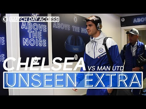 Exclusive Tunnel Access During Chelsea Vs Manchester United | Unseen Extra